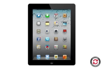 Apple iPad 2 Refurbished (16GB, Wi-Fi, Black) - AB Grade