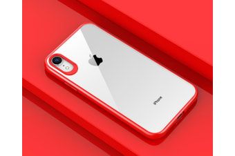 Simple Case Compatible Iphone Xs Max Hard Pc Protective Scratchproof Cover For Iphone Xr,Xs,Xs Max Red Iphone Xr