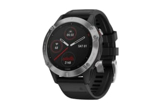 Garmin Fenix 6 (Silver and Black)