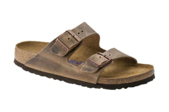 Birkenstock Arizona NU Oiled SFB Tabacco Sandal (Brown)