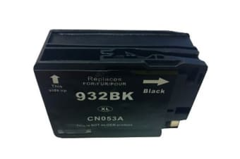 932XL Black Compatible Cartridge