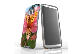 For Samsung Galaxy S8 Case Armour Cover  Flowering