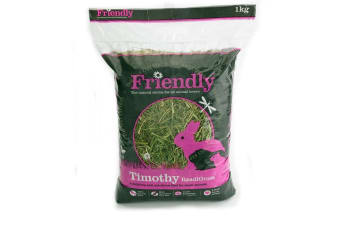 Friendly Timothy Readigrass Small Pet Food (May Vary) (4 x 1kg)