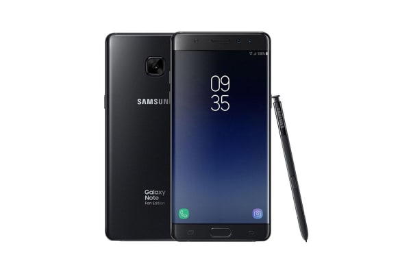 Samsung Galaxy Note Fe 64gb Black Kogan Com