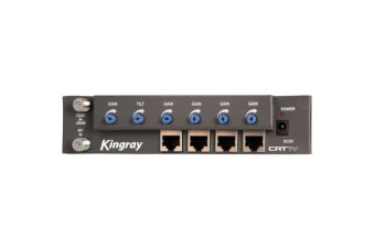 Kingray 4 Way Rf Over Cat5 Amplifier