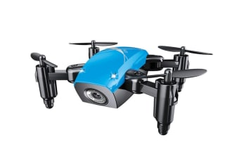 Quadcopter,300K Pixel Wifi Mobile Phone Aerial Toy Uav Blue With Camera