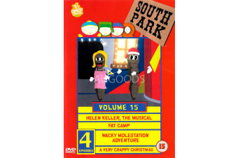 South Park: VOLUME 15  -Comedy Series Region All Rare- Aus Stock Preowned DVD: DISC LIKE NEW
