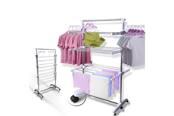 6 Tiers Indoor Clothes Airer