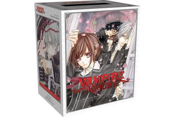 Vampire Knight Box Set 2 - Volumes 11-19 with Premium