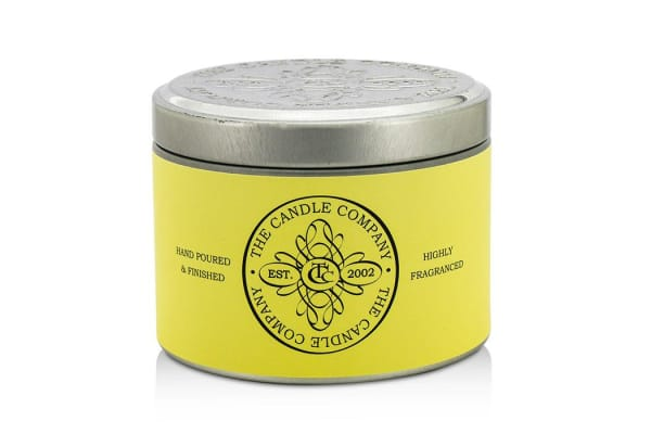 The Candle Company Tin Can Highly Fragranced Candle - French Vanilla (Ivory Can) ((1.5x3) inch)