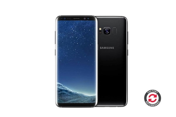 Samsung Galaxy S8 Refurbished (64GB, Midnight Black) - AB Grade