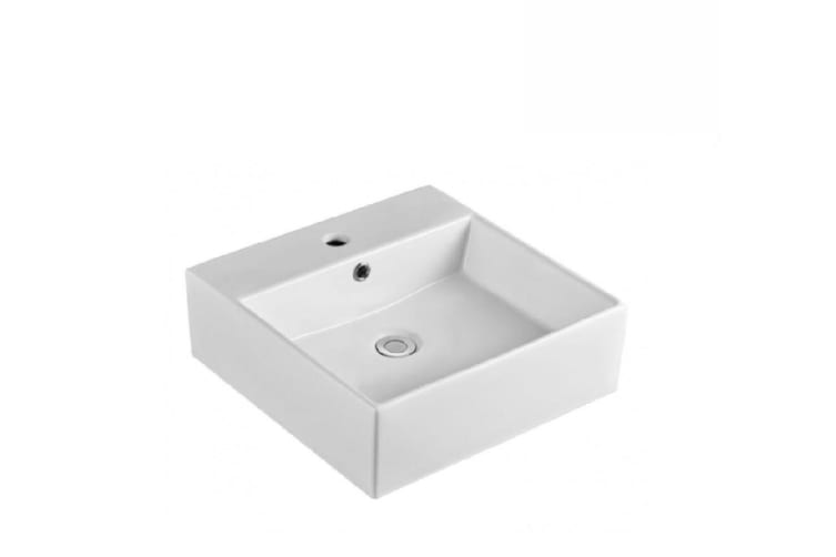 Fienza Above Counter Ceramic Basin Helen 1th White RB71