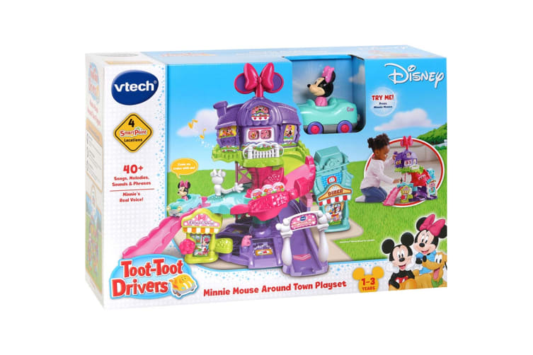 Vtech Toot-Toot Drivers Minnie's Fun Town