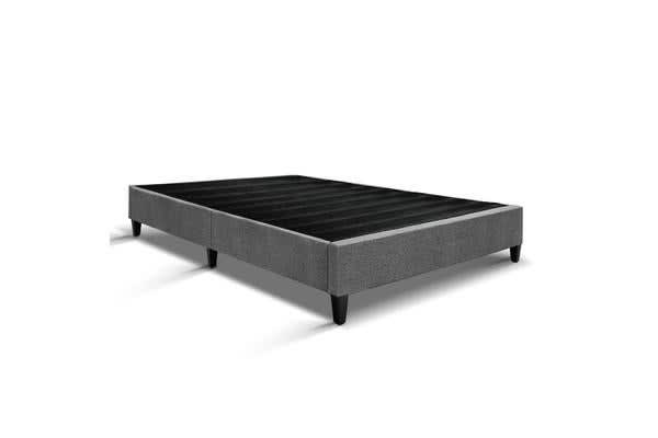Double Size Bed Base Frame (Grey)