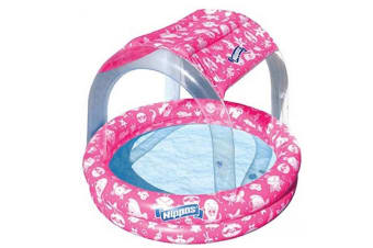 Wahu Nippas Pool with Canopy in Pink