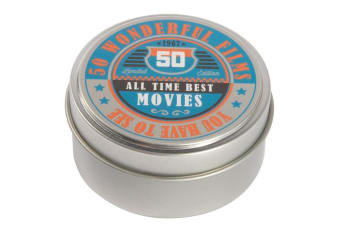Tabletop Trivia in a Tin - 8 Themes to Choose from! - All-time Best Movies