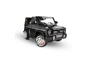 Kids Ride on Luxury Car with Remote Control (Black)