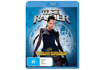 Lara Croft Tomb Raider Blu-ray Region B