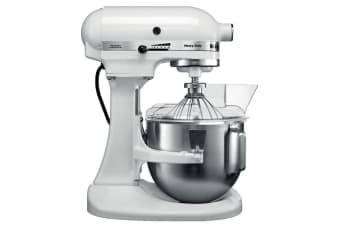 Incredible Kitchenaid Bowl Lift Stand Mixer White Kpm5 Download Free Architecture Designs Scobabritishbridgeorg