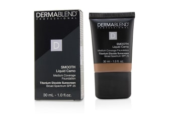 Dermablend Smooth Liquid Camo Foundation SPF 25 (Medium Coverage) - Cinnamom (80N) 30ml/1oz