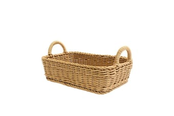 IconChef Hand Woven Basket 31x21cm