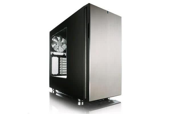 Fractal Design Define R5 USB3.0 Mid Tower Case Titanium W/ window side panel