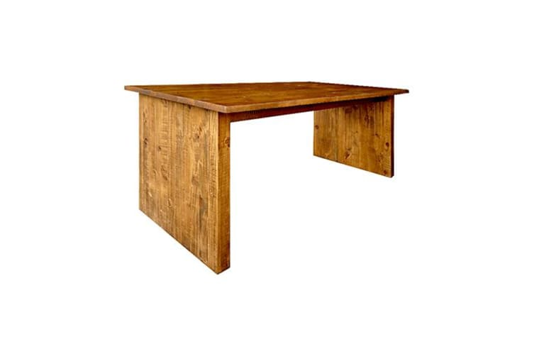 Bench Table Rustic Colour