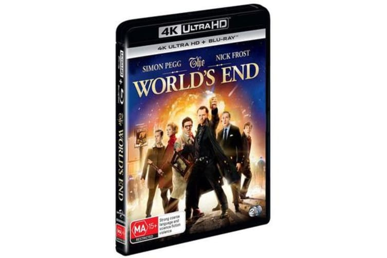 The World's End (4K UHD/Blu-ray)