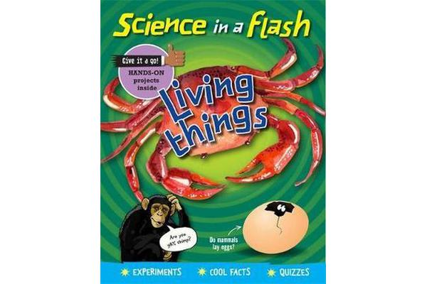 Image of Science in a Flash - Living Things