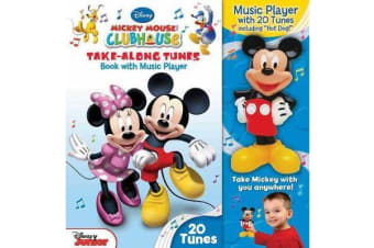 Disney Mickey Mouse Clubhouse Take-Along Tunes - Book with Music Player