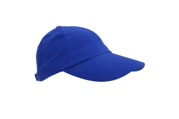 Result Unisex Heavy Cotton Premium Pro-Style Baseball Cap (Pack of 2) (Royal) (One Size)