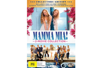 Mamma Mia 2 Movie Collection with Digital Download DVD Region 4
