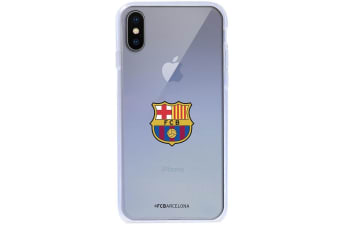 FC Barcelona iPhone X TPU Case (Transparent) (One Size)