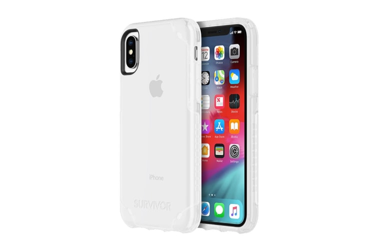 Griffin Survivor Strong Case for iPhone X/Xs - Clear