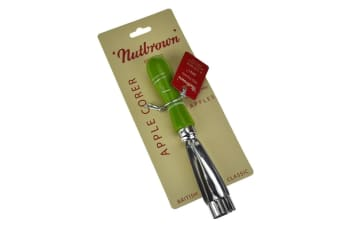 Nutbrown Apple Corer - Green