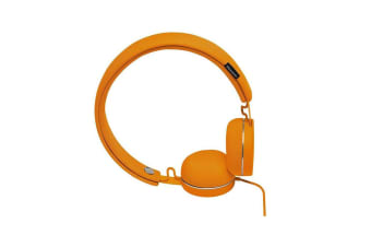 Urbanears Humlan On-Ear Headphones Headset w/Remote Mic for Smartphones Pumpkin