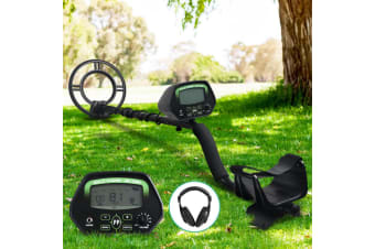 Metal Detector Deep Sensitive Searching Gold Digger Treasure Hunter LCD