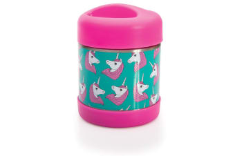 IS GIFT Fun Times Hot & Cold Food Container Unicorns