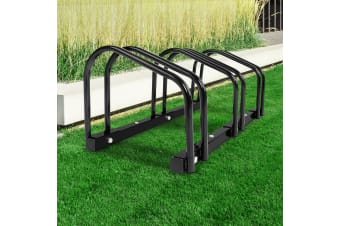 1  3 Bike Floor Parking Rack Instant Storage Stand Bicycle Cycling Portable