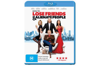 How to Lose Friends and Alienate People Blu-ray Region B