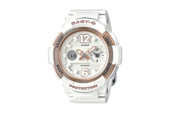 Casio Baby-G Ana-Digital Watch - White/Gold (BGA210-7B3)