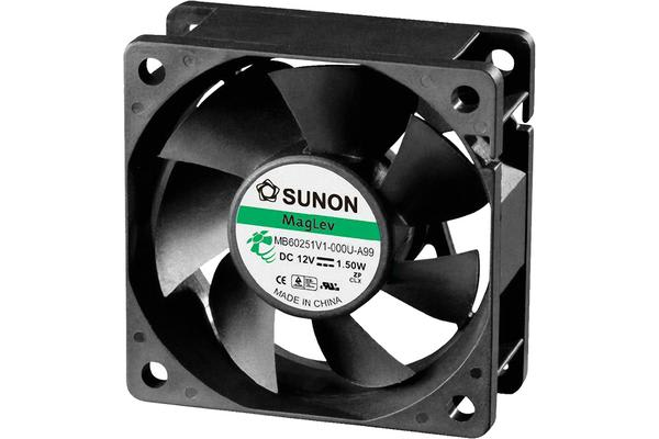 Sunon 12V Dc 60Mm Dust Resistant
