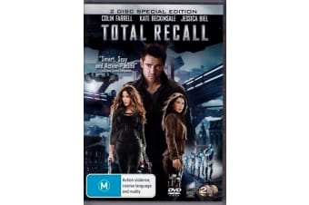 Total Recall - Special Ed -Colin Farrell, Kate Beckinsale - DVD Preowned: Excellent Condition