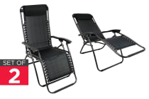 2 Pack Kogan Zero Gravity Lounge Chair