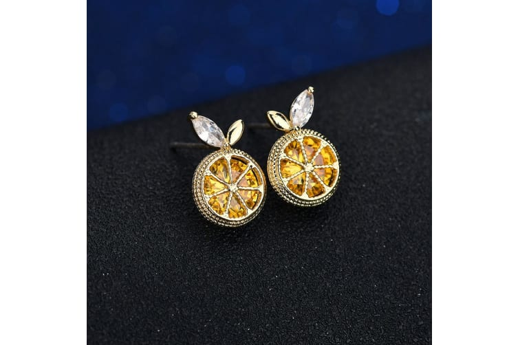 Zest Bloom Earrings Yellow