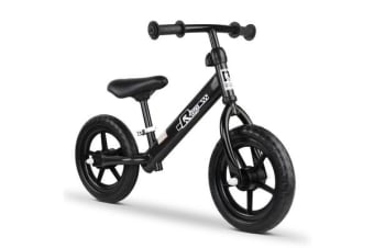 12 Inch Kids Balance Bike (Black)