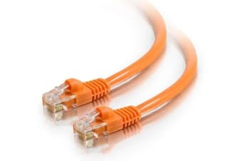 Astrotek CAT6 Cable 20m - Orange Color Premium RJ45 Ethernet Network LAN UTP Patch Cord 26AWG-Coper PVC Jacket