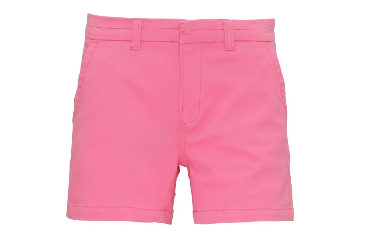 Asquith & Fox Womens/Ladies Classic Fit Shorts (Pink Carnation) (L)