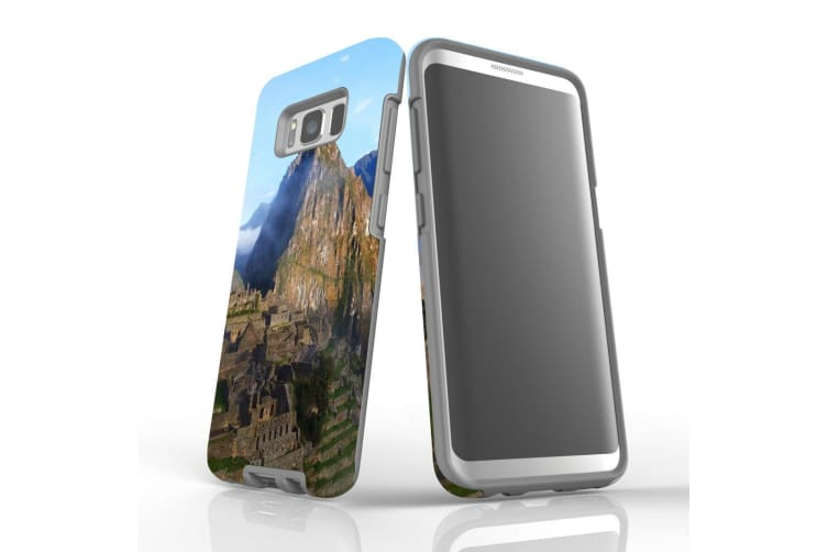 For Samsung Galaxy S8 Case Armour Cover  Machu Picchu