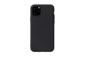 Select Mall Ultra Slim Protective Gel Shell Bumper Back Skin Mobile Phone Case Protective Cover TPU Cover for iPhone 11 Series-Black Iphone11 Pro Max 6.5 inch